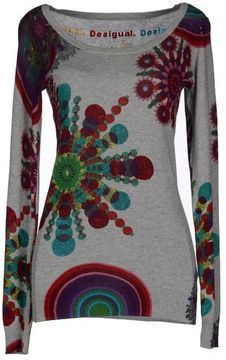 DESIGUAL Long sleeve sweater on shopstyle.ca