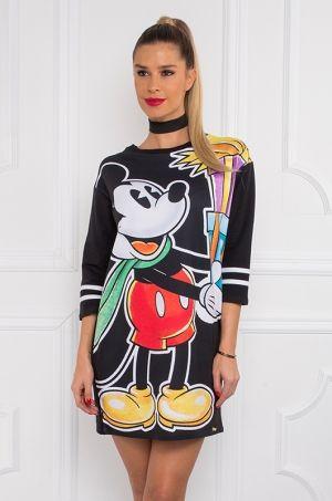 Vianočná tunika s Mickeym z Disney kolekcie darčekmi, vhodná k džínam, pančuchám či legínam.