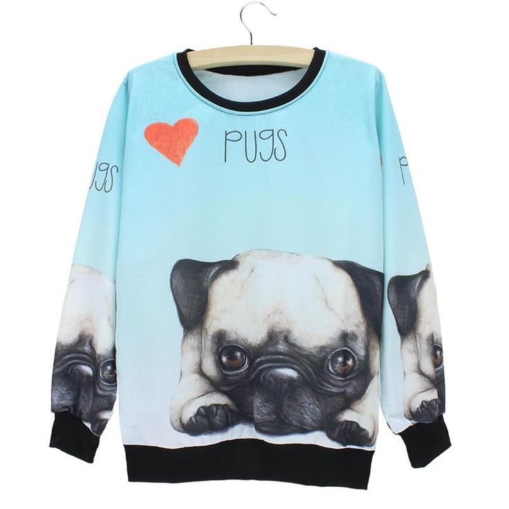 Cheap 2015 recién llegado de la pugs patrón sudadera mujeres americano y europeo de moda otoño jerseys chicas chándal envío gratis, Compro Calidad Sudaderas directamente de los surtidores de China: The Western fashion Old photos printing sweatshirt women's Autumn pullovers 2015 splicing design girls tracksuit free sh