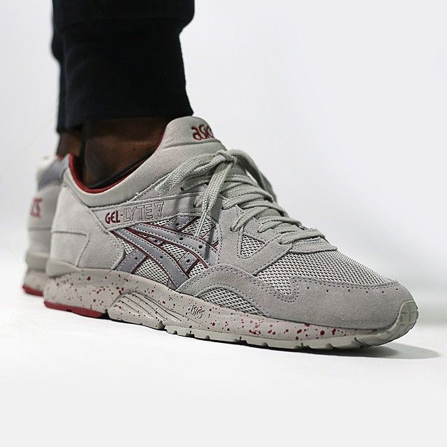 ec77fab742847 Asics Gel Lyte V  Night Shade  (light grey light grey) available in store  and online at The Good Will Out