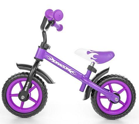 ¡Chollo! Bicicleta sin pedales Dragon de Milly Mally por 27 euros.