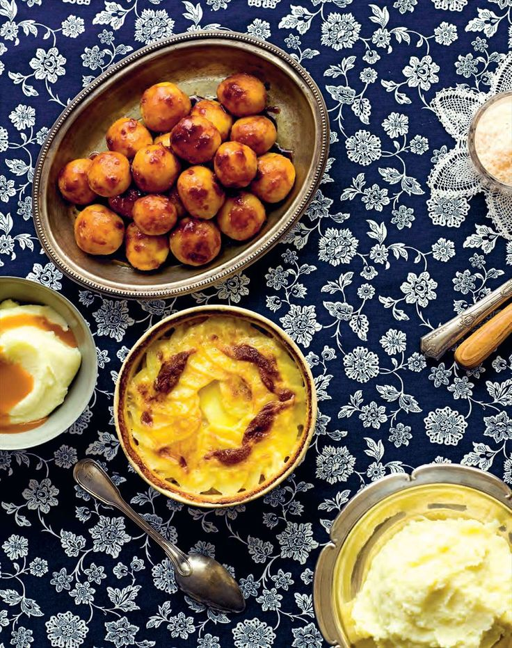 Best-ever roast potatoes by Margaret Fulton from The 12 Days of Christmas | Cooked