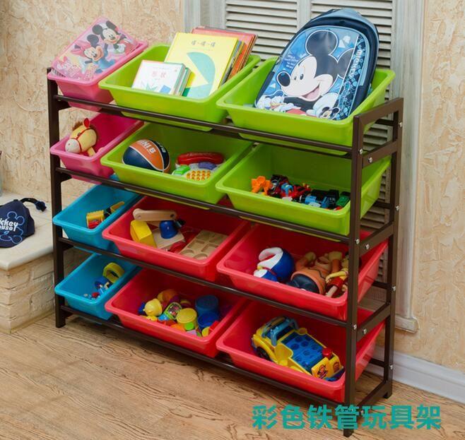 Giocattoli per bambini finitura stoccaggio cremagliera scaffalature di stoccaggio cremagliera scuola materna del bambino giocattolo scatola di immagazzinaggio mensola
