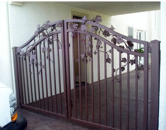 Best images about metal gate ideas on pinterest steel