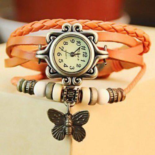 Designer Dori watch Orange color Rs.250