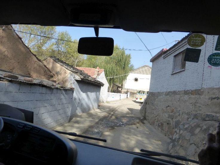 Entering the lower reaches of Yangjiazhuang Village. Most was a climb.
