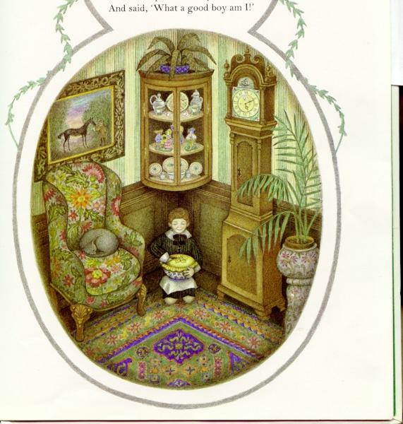 Nicola Bayley Book of Nursery Rhymes - purple