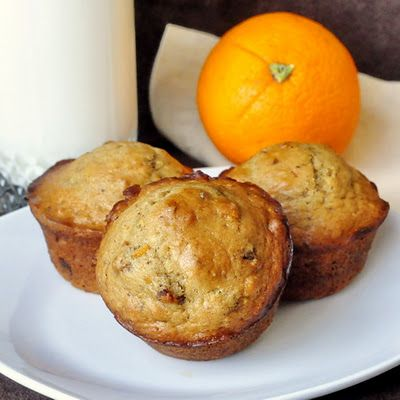 Five Spice Orange Date Muffins - Read the recipe for more baking suggestions using this amazing five spice blend.