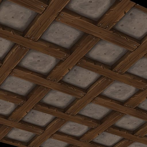 Roof Inside. | Hand Painted Textures