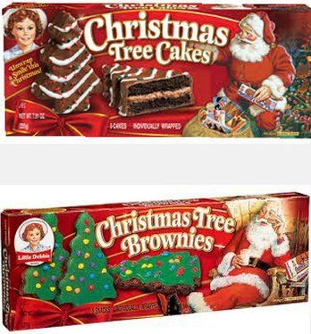 Little Debbie Christmas Tree Cakes Chocolate