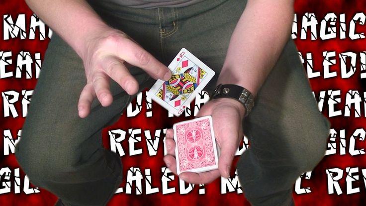 """Card Through Deck!"" MAGIC REVEALED! Tutorial"