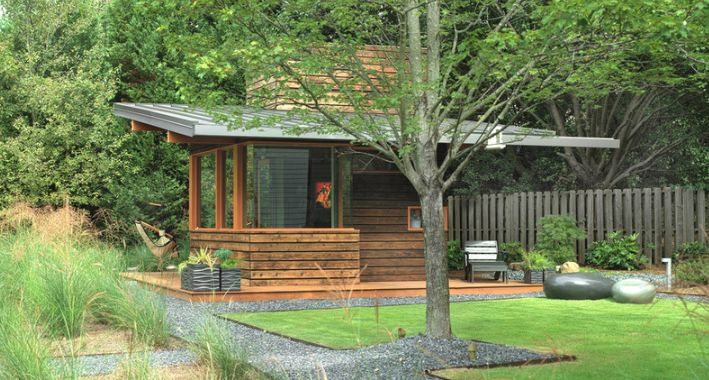 Outdoor Studio in ATL by architect Bryan Russell of Dencity.