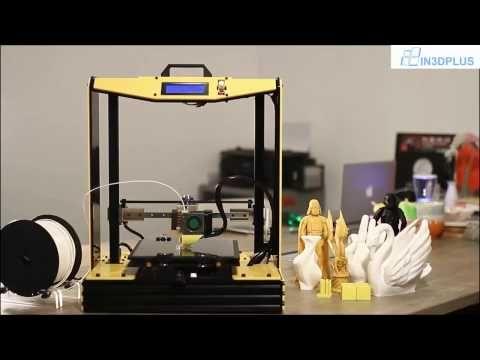 Xem Máy in 3D hoạt động tạo nên mô hình 3D - nhìn đã mắt quá! - YouTube