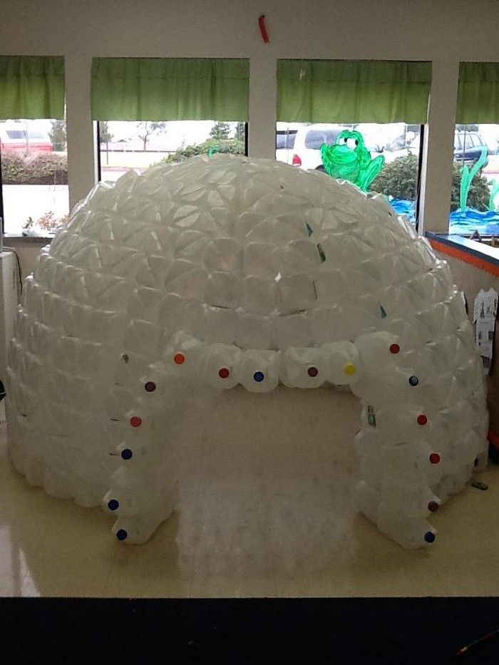 17 best ideas about milk jug igloo on pinterest how to for How to build an igloo out of milk jugs