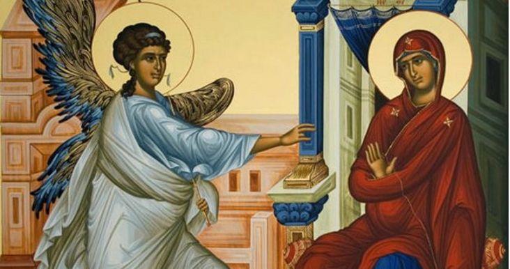 25η Μαρτίου: H μεγάλη γιορτή της Ελλάδας και της Ορθοδοξίας μας – Πώς ερμηνεύουν οι Άγιοι Πατέρες την Εικόνα του Ευαγγελισμού της Θεοτόκου; Crazynews.gr