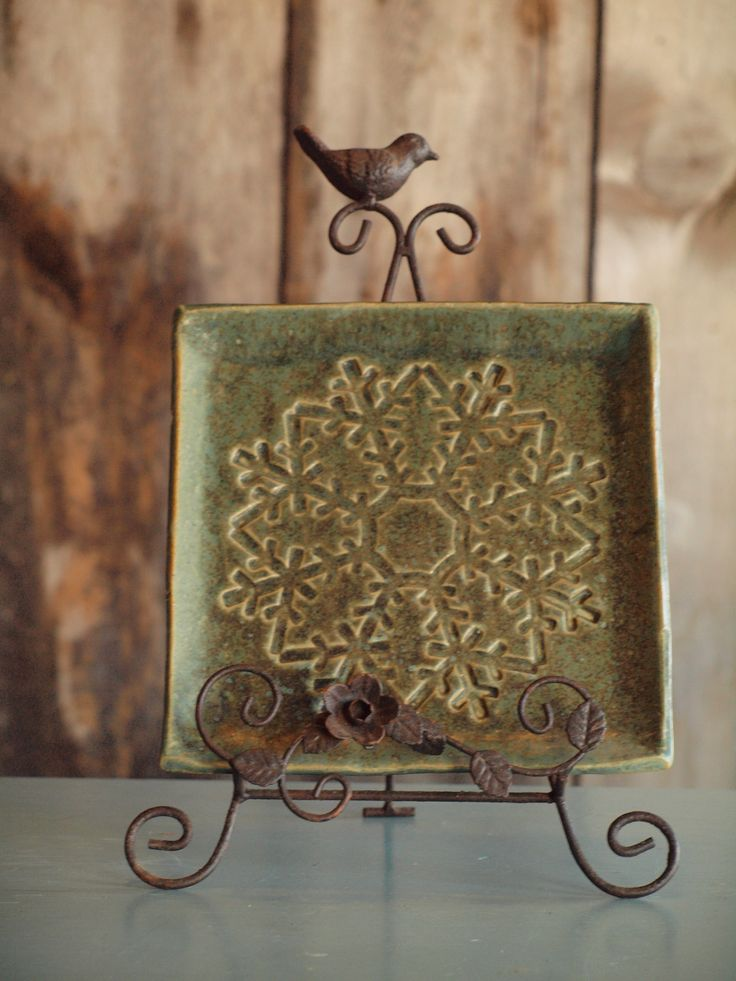 312 Best Pottery Snowflakes Images On Pinterest
