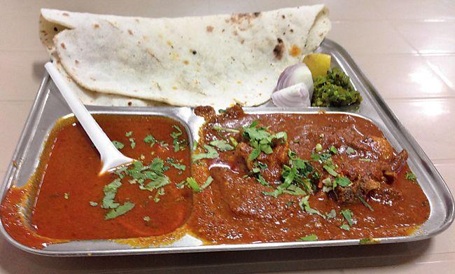 The Agri Mutton Bhakri was well- cooked and packed a spicy punch at 'Swad Maharashtracha' restaurant in Vashi. #Mumbai #Maharashtra #Food