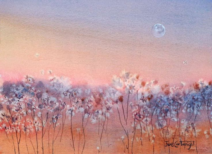 Another Version Of This Easy Watercolour Painting Using