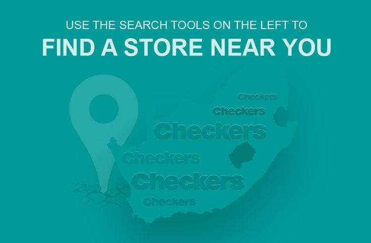 Checkers - Find a store locator near you https://www.checkers.co.za/store-locator.html