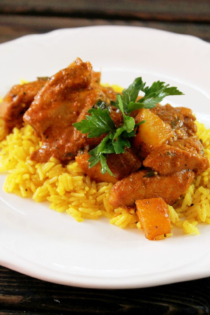 115 best indian food images on pinterest indian food recipes indian butter chicken with yellow rice creole contessa wrong rice but im always up for a recipe for butter chicken forumfinder Choice Image