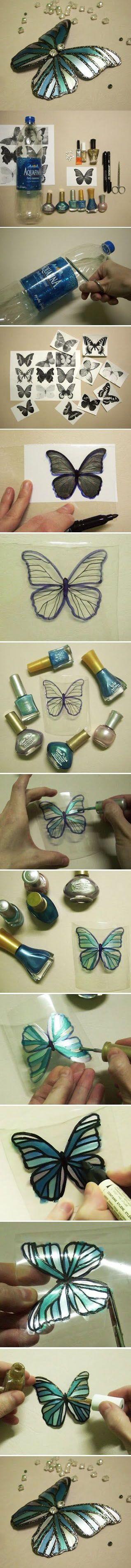 Diy Beautiful Butterfly | DIY & Crafts Tutorials