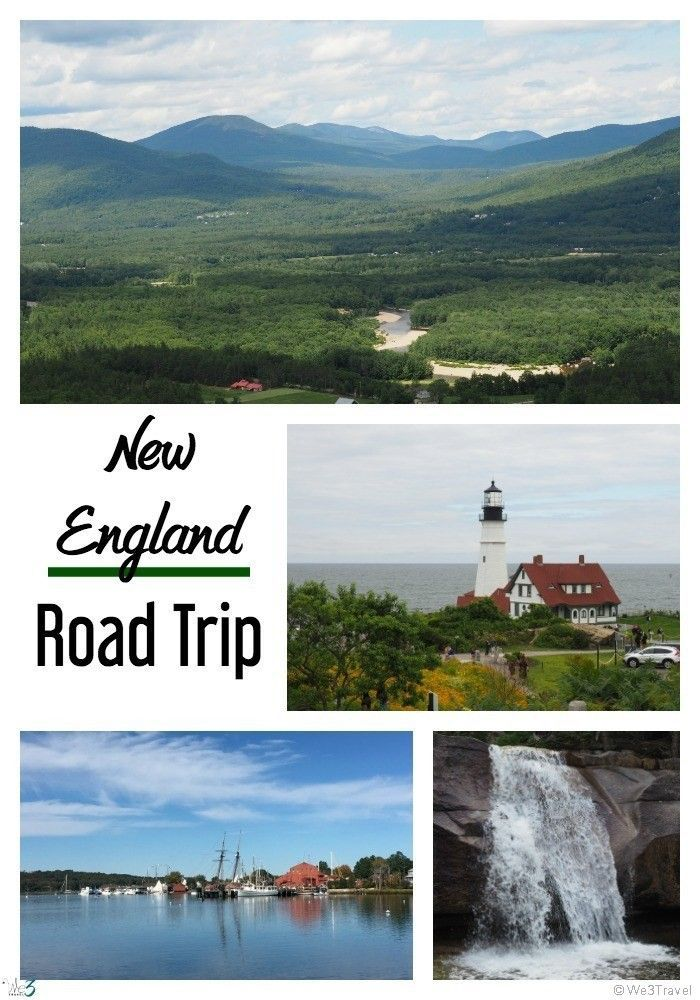 Planning a New England road trip