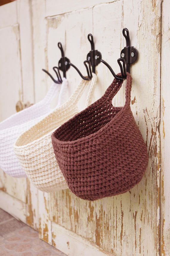 Wall Hanging Storage Basket Modern