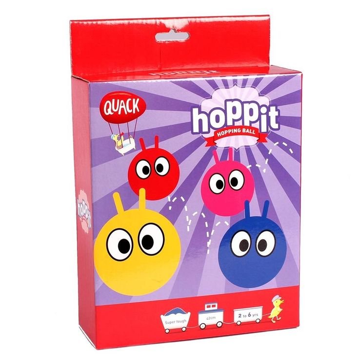 Quack - Hoppit Hopping Ball - what a great way to use up some of that energy #EntropyWishList #PinToWin