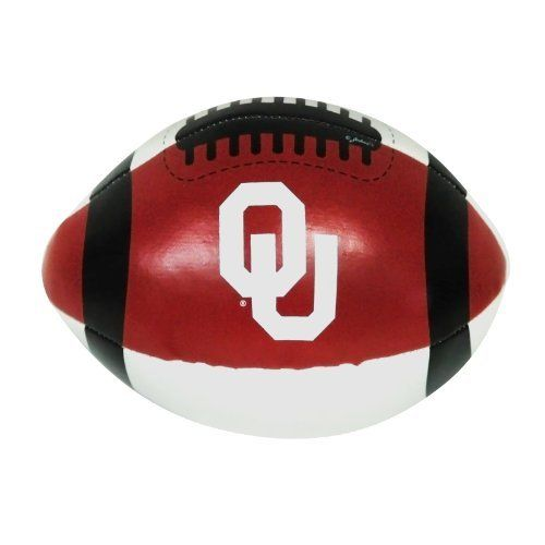 NCAA Oklahoma Sooners PVC Football by Game Day Outfitters. $6.73. Team Logo and Colors. Great for Every Fan!. Officially Licensed NCAA Product. Show Your Team Pride. Oklahoma Sooners Ball Football Pvc
