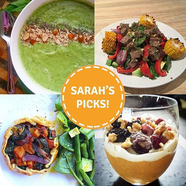 And Sarah's Picks for week 8 on the 8-Week Program are... @_zoe_powell @kellyreeves27 @consciousclaire and @kate_lea_!  **I'm trying to Pin It To Win It! To guarantee a spot on the next I Quit Sugar Program, CLICK THIS IMAGE**