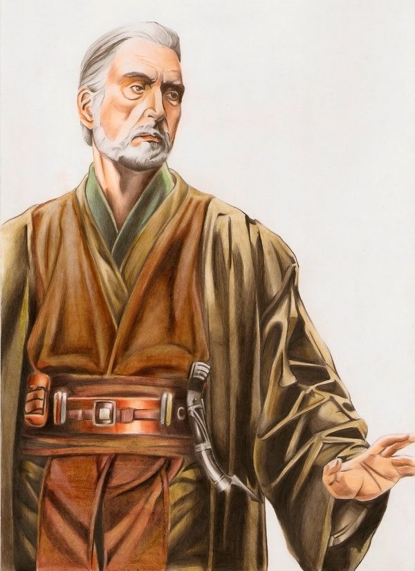 Count Dooku aka Darth Tyranus by Adorindil | Star Wars ...