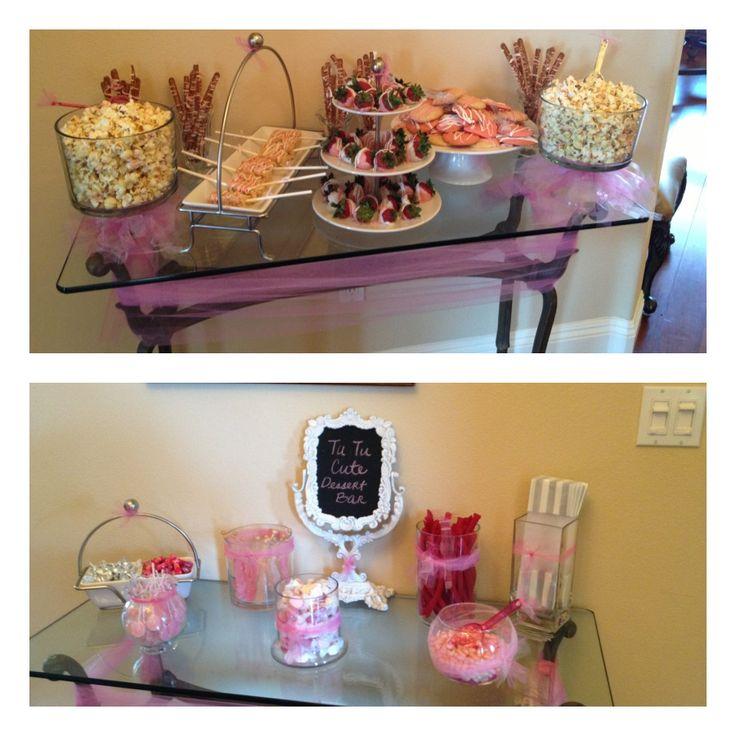 Attractive Baby Shower Dessert Bar