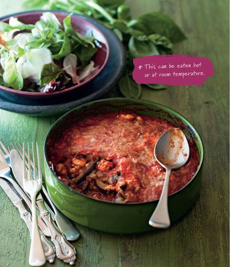 Eggplant Parmigiana with Fennel Salad - Diabetes Diet and Lifestyle Plan