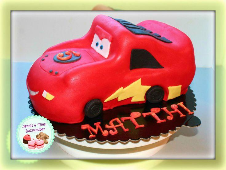 Cars Torte «3D Auto Torte» in 2020 | Leckereien, Kuchen