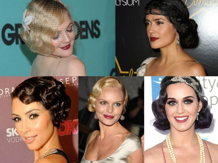 DIY Gatsby Hair, Makeup and style