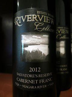 Riverview Cellars Salvatore's Reserve Cabernet Franc 2012 (88 pts)