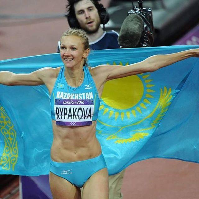Лондон олимпиадасынын чемпионы Ольга Рыпакова Рио Олимпиадасында да алтын алуға барын салатынын айтты. #Rio2016 #London #athletics #London2012 #IAAF #OlgaRypakova #kazakhstan #