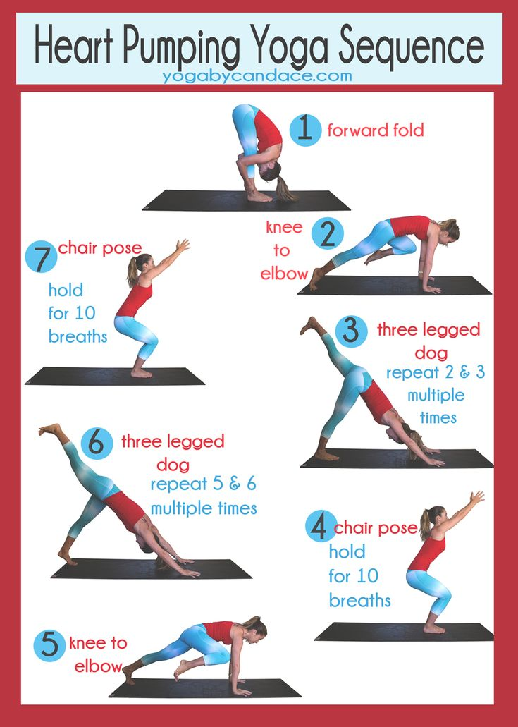 Heart Pumping Yoga Sequence
