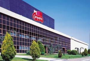Exterior de las instalaciones de Campofrio en Burgos.