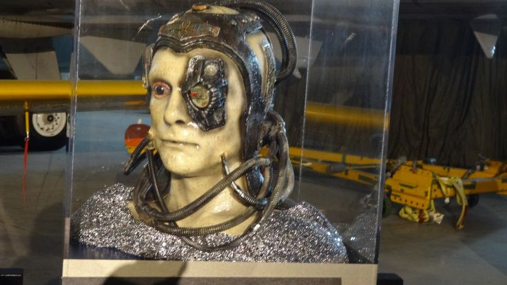 """A Borg prop from Star Trek: The Starfleet Academy Experience, summer 2016. """"Strength is irrelevant.  Resistance is futile."""""""