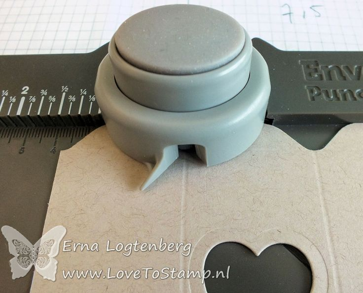 adorable little box made with envelope punch