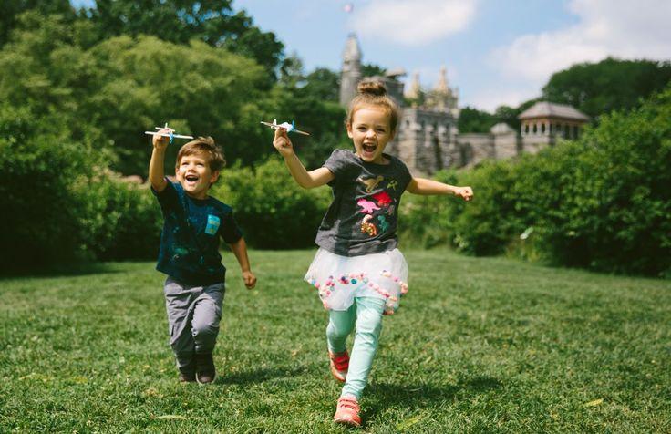 bubbles by belvedere castle!