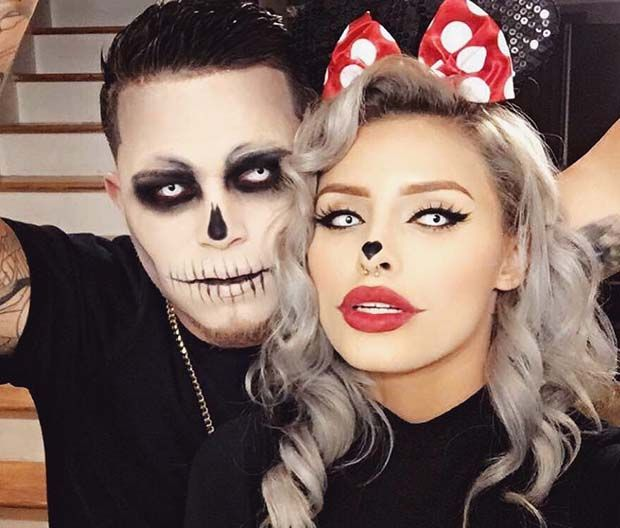 Scary Halloween Costume Ideas For Couples Page 2 Of 2 Stayglam Scary Halloween Costumes Scary Halloween Costume Scary Couples Halloween Costumes
