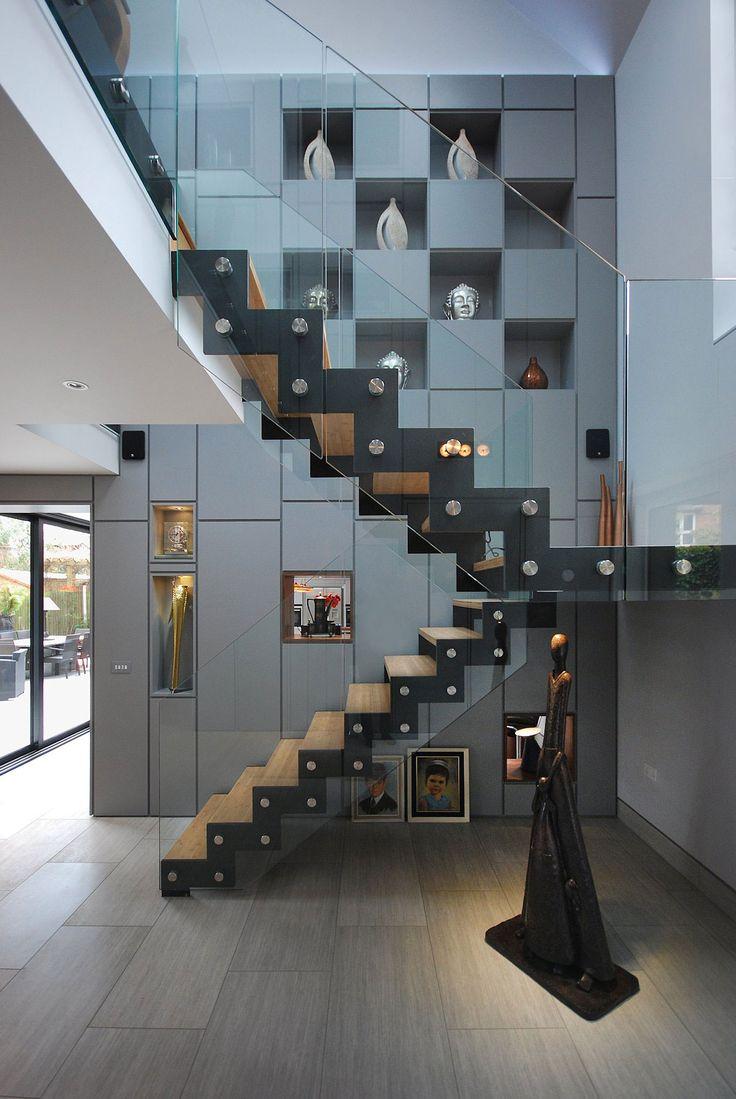 115 besten Stairs Bilder auf Pinterest | Treppengeländer, Moderne ...