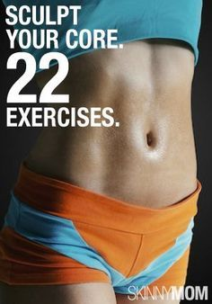 Work your core! Make it sore!