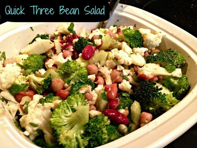 bean salad mexican three bean salad bean salad 4142 speedy three bean ...