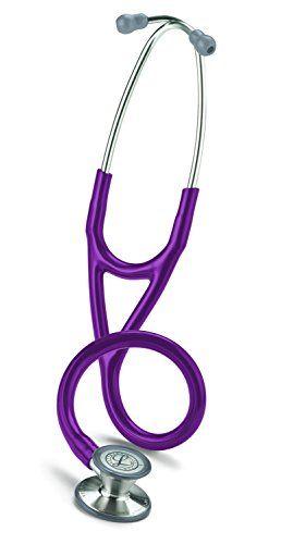 3M Littmann Cardiology III Stethoscope  Plum Tube  27 inch  3135 3M Littmann