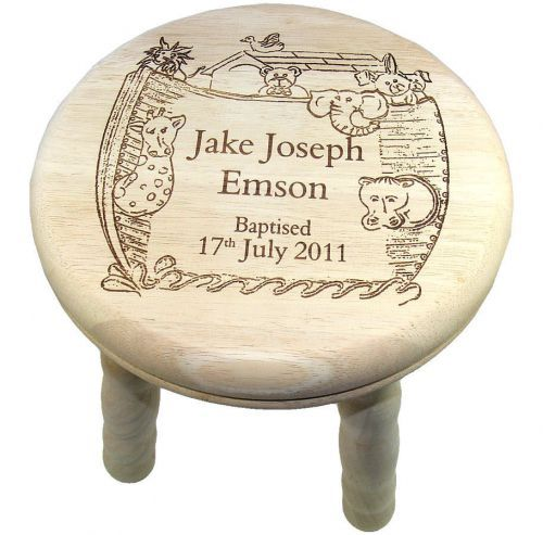 Childs Wooden Stool With Name Woodworking Projects Amp Plans