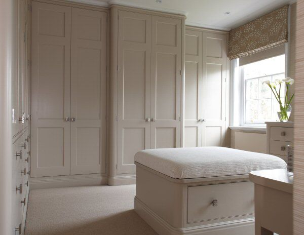 Closet cabinetry and matching seating; however, dont like the square knobs.    Chamber Furniture Ltd Bedroom » Chamber Furniture Ltd