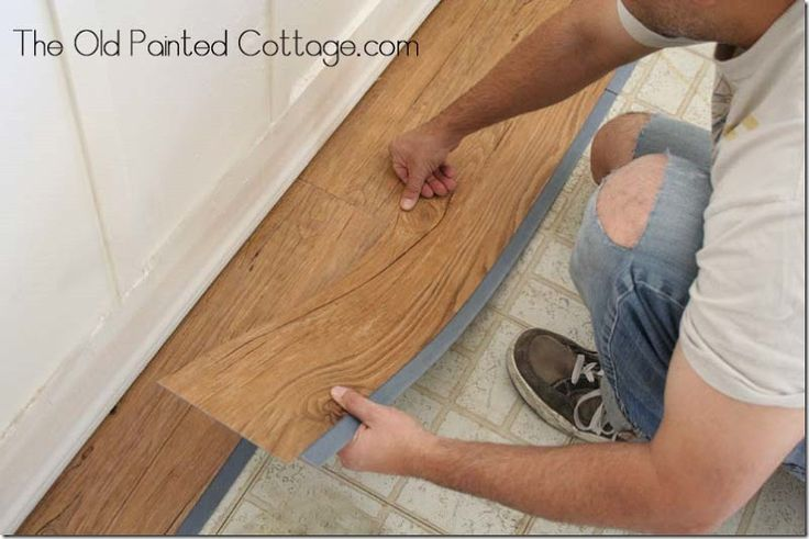 pros & cons of Allure flooring; plus installation advice